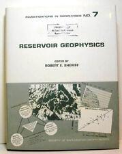 Reservoir Geophysics - Investigation in Geophysics No. 7
