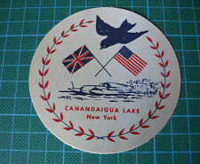 DONALD CAMPBELL WATER SPEED RECORD BLUEBIRD CANANDAIGUA LAKE STICKER DECAL