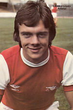 Football Photo>DAVID O'LEARY Arsenal 1980s