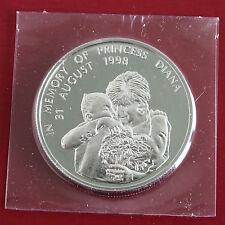 La Zambie Princesse Diana 1998 Memorial preuve 1000 Kwacha Crown