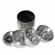 Tobacco Herb Spice Grinder 4 Pieces Herbal Smoke Mill Crusher US Stock