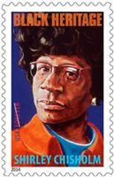 Shirley Chisholm Stamps 2014 Black Heritage US Scott 4856 Pane of 20 Forever MNH