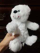"""Progressive Plush Anya White Bear super soft 11"""""""