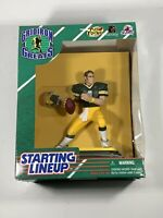 "Brett Farve Starting Lineup Gridiron Greats Green Bay Packers 6"" Figure New"
