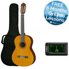 Yamaha C40 Classical Guitar Standard Pack - 6 Months Free Online Lessons