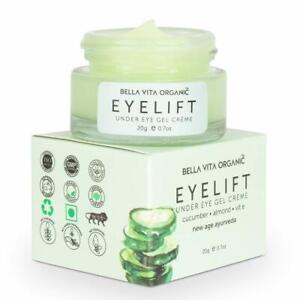 Under Eye Cream Gel for Dark Circles Puffy Eyes Wrinkles & Removal Of Fine Lines