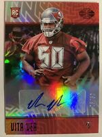 2018 Panini Illusions Red Vita Vea Rookie Auto 25/50 Buccaneers