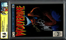 Wolverine Limited Series 3 CGC SS 9.6 2X Chris Claremont Joe Rubinstein WP 1982