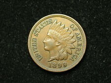 SUMMER SALE!!  XF  1899 INDIAN HEAD CENT PENNY w/ DIAMONDS & FULL LIBERTY #54s