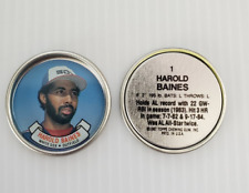 Mint # 1 Harold Baines 1987 Topps Coins Chicago White Sox
