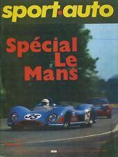 SPORT AUTO n°89 06/1969 Spécial 24h du MANS 1000km MONZA PORAVEC ENCART