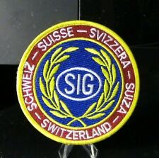 Swiss (switzerland) Police Patch