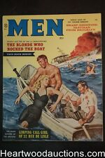 Men Apr 1959 June Wilkinson, Rafael DeSoto, Copeland, Kunstler, Joe Little - Ult