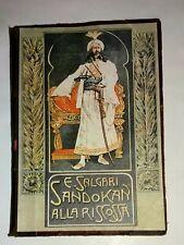 Sandokan alla riscossa - Salgari Emilio - Bemporad & Figlio 1928