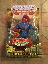 Motuc Masters Of The Universe Clásicos Señor Laser-Lot Figura He-Man Motu