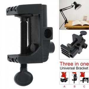 Universal Bracket Clamp for Mic Stand Desk Swing Arm Lamp Desktop Magnifier Clip