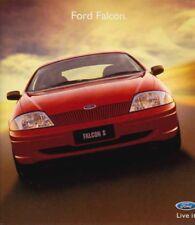 Two 1999 & 2000 FORD AU FALCON Forte Futura & S Brochures