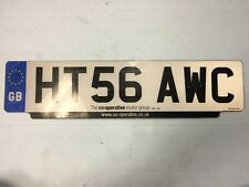 Front UK GBLICENSE PLATE EURO MINI LAND ROVER RR BENTLEY #HT56AWC Portsmouth