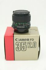 Canon FD 35 mm f/2.0, inkl. OVP - sehr gut!!!