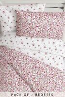 BNWT Next Girls PRETTY VINTAGE DITSY FLORAL 2 Pack Single Bed sets/ duvet cover