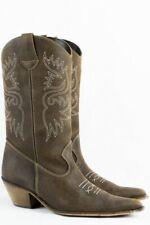 Western Boots 40 Wildleder Cowboy Stiefel Folklore Stil