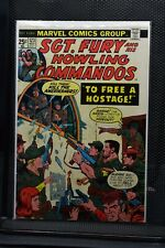 Sgt Fury and His Howling Commandos #123 Marvel Comic 1974 Stan Lee Ayers 6.5