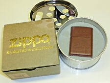 "WINDY ""THE VARGA GIRL"" ZIPPO FULL LEATHER LIGHTER & ASHTRAY SET -LIMITED EDITION"
