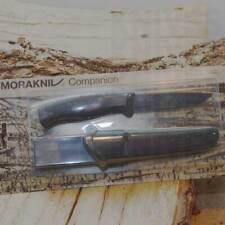 Morakniv Companion All Black Coltello Campeggio Caccia Pesca Escursione 12553