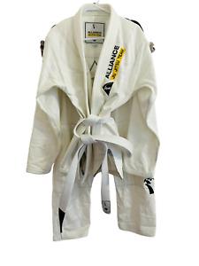 Kingz Alliance Jiu Jitsu Team GI Kimono & Pants Unisex New A3 White