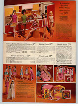 1968 PAPER AD A Kitchen For Talking Barbie Doll Christie Stacey House Outfits