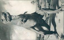 Tyranosaurus british museum exhibit real photo