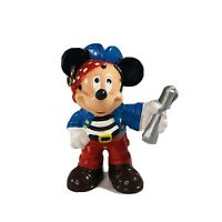 Disney Bullywood Mickey Mouse Pirate PVC Figure Made in Germany Hand Painted