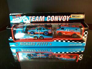 Rchard Petty #43 STP Matchbox Team Convoy Pontiac Grand Prix W/ Van