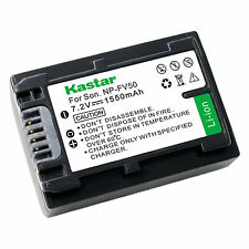 1x Kastar Battery for Sony NP-FV50 HDR-CX220 HDR-CX230 HDR-CX260V HDR-CX290