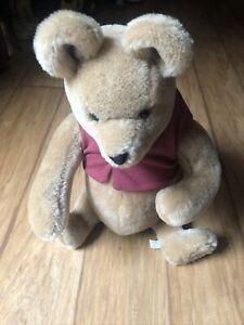 "R. John Wright Classic Pooh Bear 16"" Mohair Jointed 1045/2500 EH Shephard Ltd Ed"