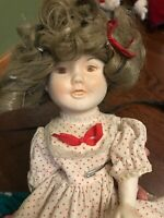 Shirley Temple Porcelain Vintage Doll