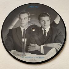 """DALIS CAR The Judgement Is The Mirror 1984 7"""" Record UK Pic Disc Paradox DOXY 1"""