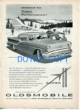 Oldsmobile Super 88 Holiday Coupe Car 1957 Original Ad Advertisement