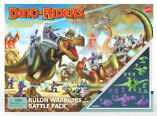 Exclusive Dino-Riders 20 Piece Rulon Warriors Battle Pack Mattel - New In Stock