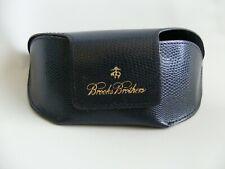 Brooks Brothers Blue Sunglasses Eyeglass Case Large