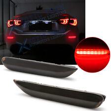 Smoked Lens LED w/ Dynamic Turn Signal Brake Reflector Lamp For Infiniti Nissan