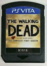 The Walking Dead: The Complete First Season Sony PlayStation PS Vita Cart Only