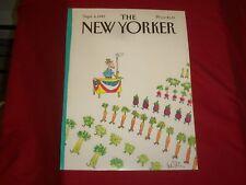 1982 SEPTEMBER 6 NEW YORKER MAGAZINE FRONT COVER ONLY - GREAT ART FOR FRAMING