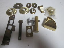 VINTAGE LOT OF BRASS ACCENTS HARDWARE AND ODDS & ENDS