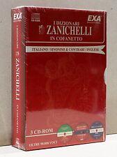 I DIZIONARI ZANICHELLI IN COFANETTO [3 cd, italiano/sinonimi & contrari/inglese]