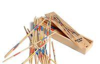 Traditional Mikado Stick Pick Up Stick Game Kids Retro Wooden Gift Toy Children
