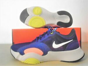 New Nike Air Zoom Superrep Go Blue White Training Shoes sz 8.5