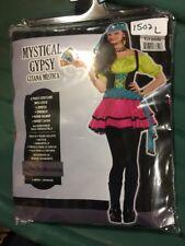New Halloween Costume Mystical Gypsy Junior Women Girl Large 11-13