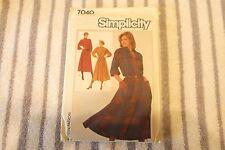 Simplicity Pattern, Dress, 7040, Size N ( 10, 12, 14), Uncut
