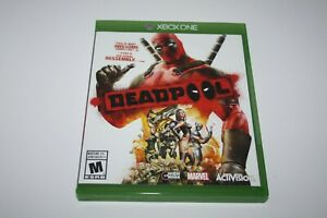 xbox one Deadpool original case replacement only, no game